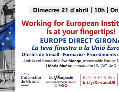 Working for European Institutions is at your fingertips!