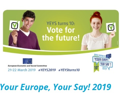 Your Europe, Your Say! 2019